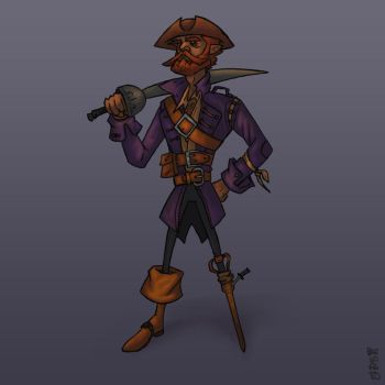 A Pirate's life [Character Design] by GiovaBellofatto