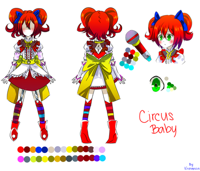Circus Baby (Reference) by Kristina1224