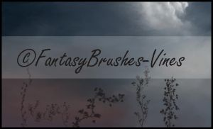 Vines Brush Set by FantasyBrushes