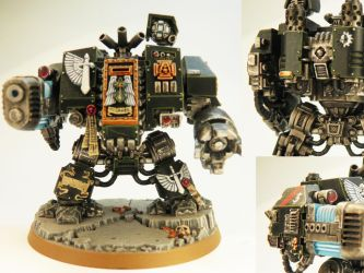 Dark Angels Dreadnought - SOLD by PrincipeFenice