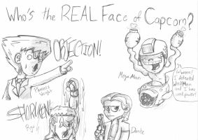 Who's the REAL Face of Capcom? by theINAshow