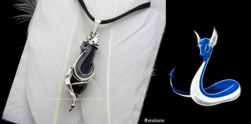 'Dragonair', sterling silver pendant SOLD by seralune