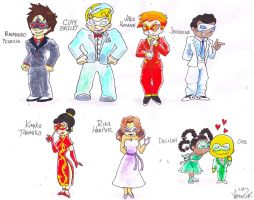 The Xiaolin Chronicles: Heylin Ball Outfits by theblackchaos737