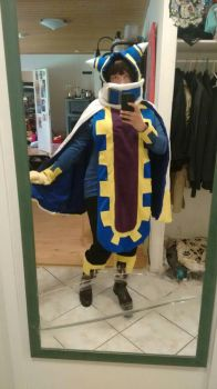 Magolor cosplay by DummyHeart