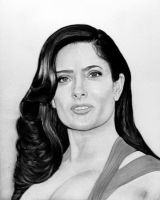 SELMA HAYEK by toolyman