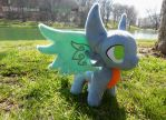 Devious the Dragon Plush by SuperKawaiiStudios