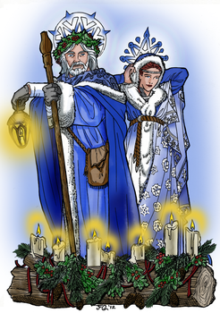 Blessed Yule / Tsamyleia / Winter Solstice by The-Bowynn-Tradition