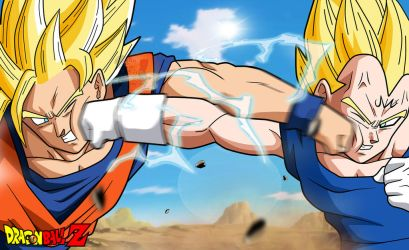 StrikerKiller19 75 0 Wallpaper Goku Vs Majin Vegeta