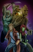 The Guardians of the Galaxy by KileyBeecher