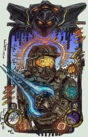Master Chief by CorrsollaRobot