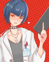 Tae Takemi - Sketch by Dejaguar