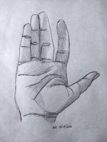 Pre-instruction hand drawing by biarockbell