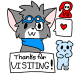 Thanks for  Visiting! by Creationmist