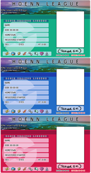 HOENN league templates by pettyartist