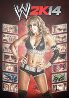 WWE 2K14 Custom Cover Art by TheElectrifyingOneHD