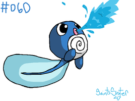 #060 Poliwag by SaintsSister47