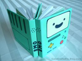 BMO Medium Book - Adventure Time by MyFebronia