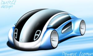 Peugeot IceMan concept by DURCI02