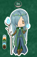Chibi #20 The river flowing through the forest by 96-Adopts