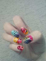 Gradient Nail Art by Hrasulee