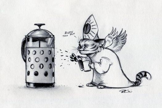 Bless This Pot by RobtheDoodler