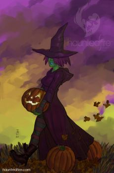Halloween Witch by cyclonaut