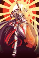 Crusader Knight - Commission by Genso-x