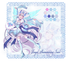 Winter Advent Adopt - Royal Shimmering Icicles by Chance-To-Draw