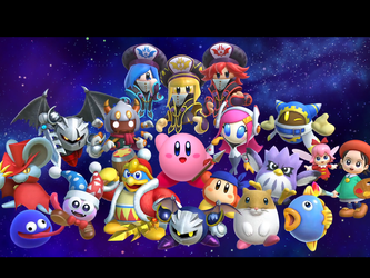 Kirby: star allies by Generalender15