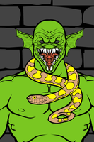 Horror Killer Croc by SCP-096-2