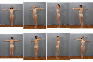 Free 3D Model Reference Pack F - Pose 2 by SenshiStock