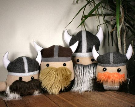 Viking Plushie Party! by Saint-Angel