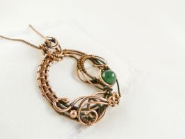 Emerald spring by UrsulaJewelry