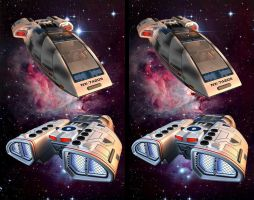 Chaffee Cross-View Stereo 3D by zour