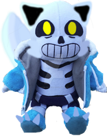 WereCat Sans Plushie by cjc728