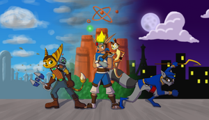 Playstation Heroes by RitoSternbeck