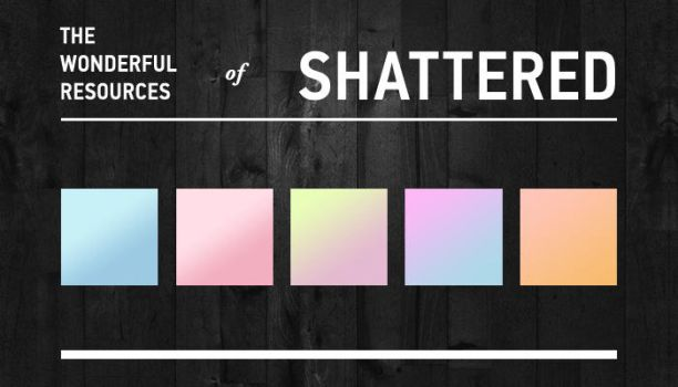 Pastel Gradients by shattereddesigns07