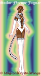 Sailor Nyeupe Jaguar (White Jaguar) by MagicalCrystalWings