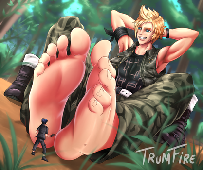 Commission: Giant Prompto by TrumFire