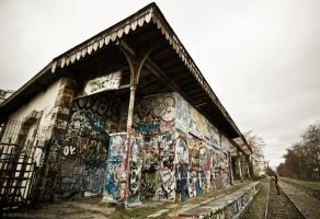 Train station by MatzeMat