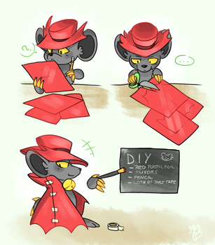 How Mice Make Capes by AriaKey