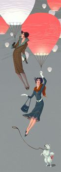 Fly Ladies by Waldemar-Kazak