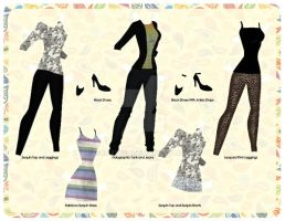 Charlene's Sequin Collection [Paper] by razzysri