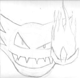 Haunting flame (sketch) by MSwope