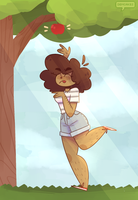 Apple Tree by demcakes