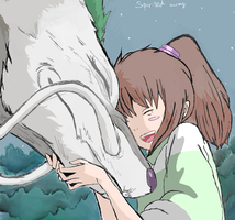 spirited away by Momoren12
