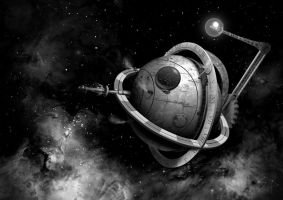 Space Station by Ultra0kelvin