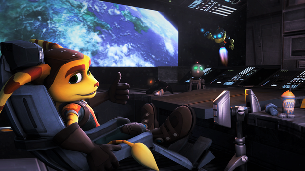 Ratchet and Clank by Anleas