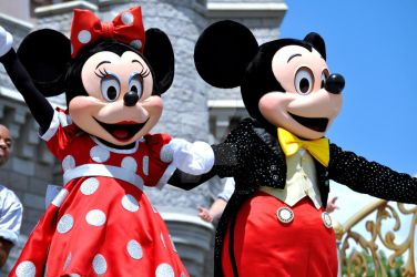 Mickey and Minnie's Smiles by BellesAngel