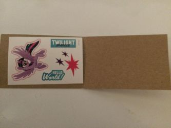 I've gotten My Little Pony The Movie stickers ^^ by Callewis2